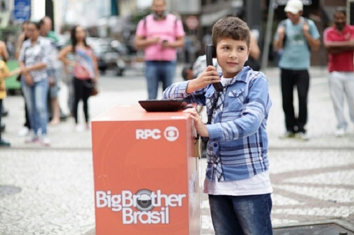Ação BBB (Foto: Luiz Renato Corrêa/RPC)