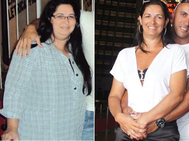 Gislaine chegou a pesar 107 kg; hoje, tem 59 kg e quer ganhar massa muscular (Foto: Gislaine D'Aro/Arquivo Pessoal)
