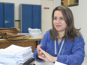 Especialista deu dicas para os estudantes não perderem o foco (Foto: Gustavo Almeida/G1)