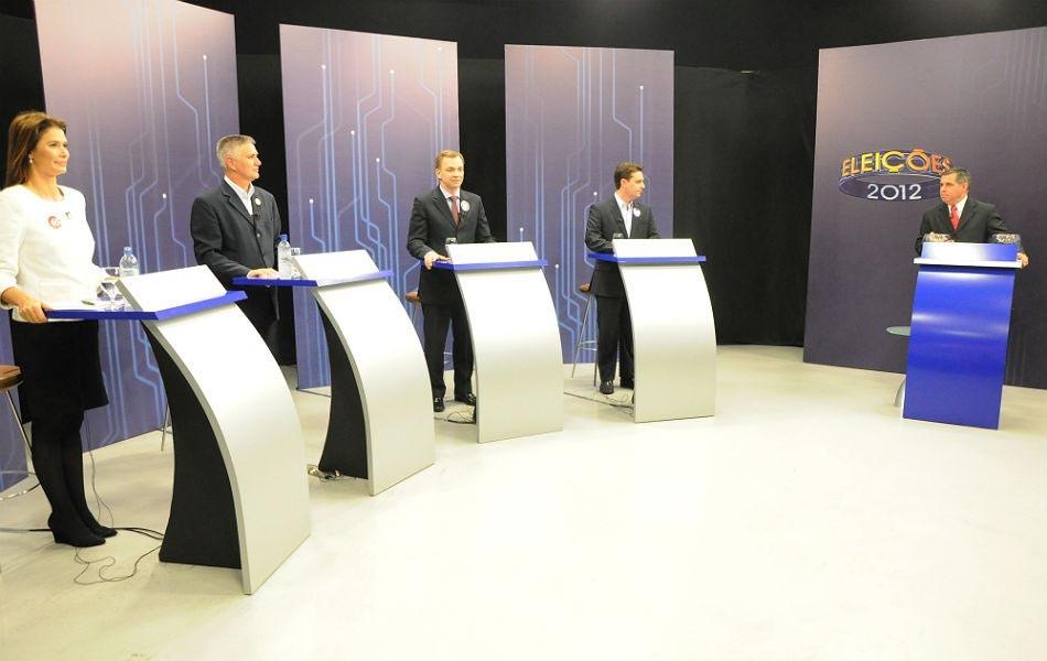 Candidatos a prefeitura de Florianópolis (Foto: G1)