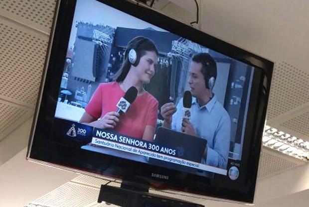 Elisa Veeck participou do 'SP 1' nesta quinta-feira (12) (Foto: Reprodução)