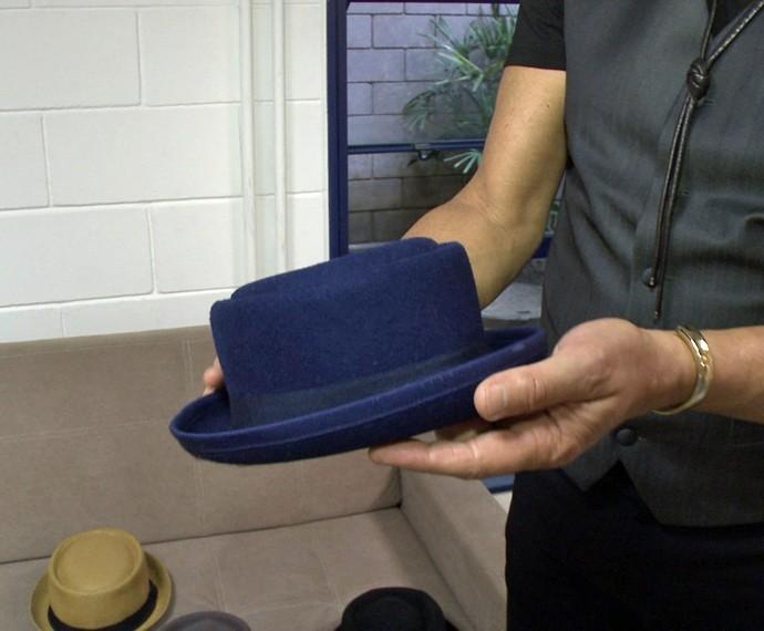 Técnico curte mais um tipo específico de chapéu (Foto: Gshow)
