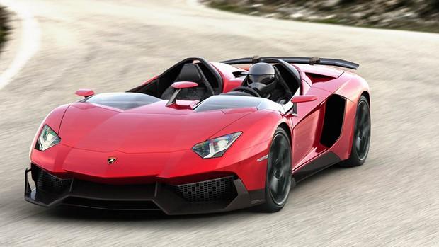 Veja imagens do novo Lamborghini Aventador J