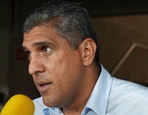 Silas - técnico da Portuguesa - ABC x Portuguesa (Foto: Augusto Gomes)