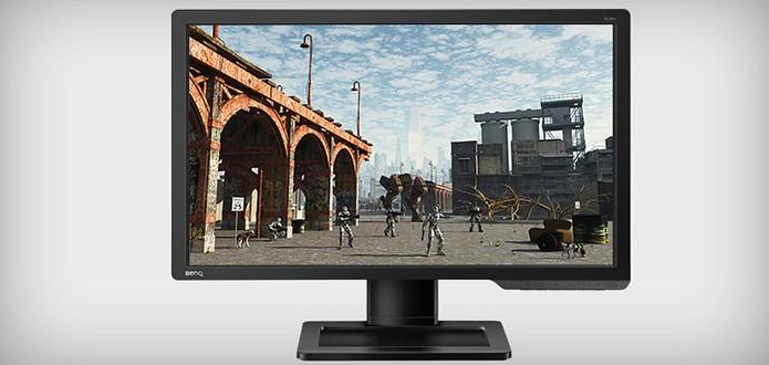 Monitor de 24 polegadas XL2411Z vem com alta qualidade de imagem e tecnologias para usuários gamers (Foto: Divulgação/BenQ)