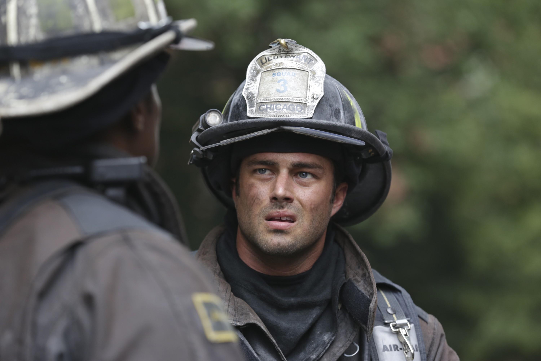 Severide em mais um resgate (Foto: NBC/Universal)