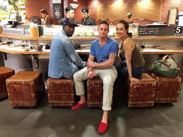 Cameron Douglas e Viviane Thibes (Foto: Reprodução/Instagram)