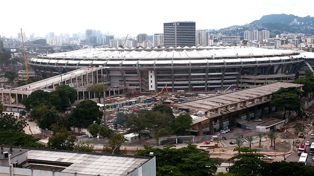 Maracanã estádio obras (Foto:  ERBS JR. / Agência Estado)