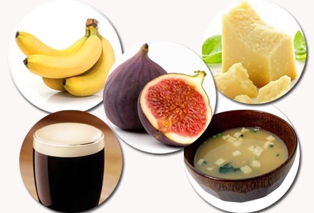 Banana, figo, cerveja, parmesão, missoshiro: segundo especialista, esses alimentos parecem não ter ingredientes de origem animal, mas têm (Foto: Think Stock)