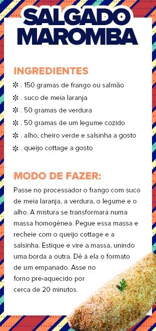 Salgado Maromba - Gracyanne Barbosa (Foto: EGO)