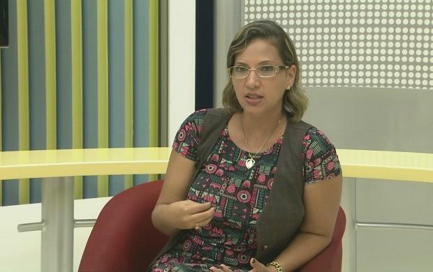 Convidada da semana foi a doutora em bioquímica, Deize Dantas (Foto: Bom Dia Amazônia)
