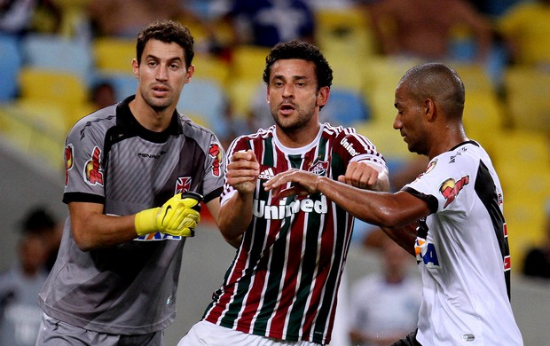 Fred fluminense Martin Silva rodrigo vasco carioca (Foto: Ricardo Ayres / Photocamera)