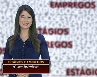 Estágios e Empregos, Aline Franco traz as vagas (Foto: Reprodução Bom Dia Rio)