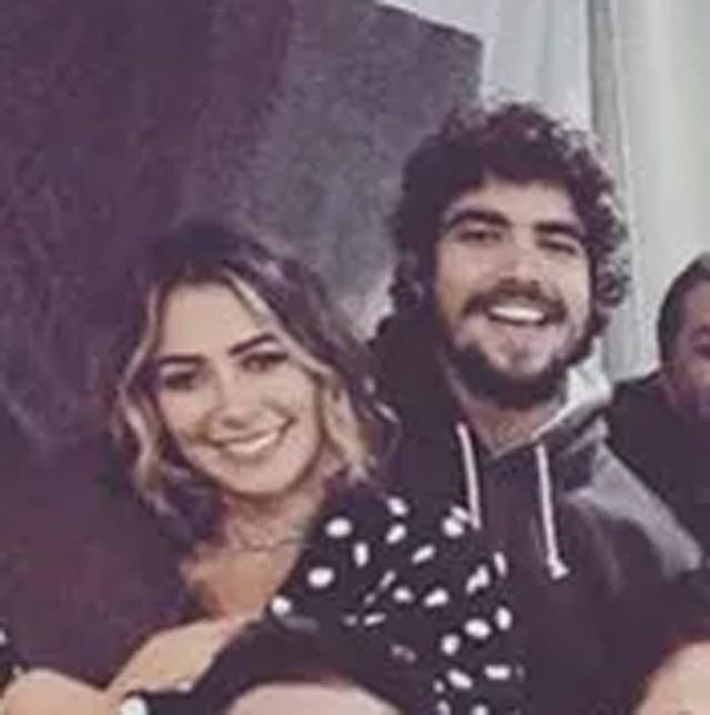 Caio Castro e Lais Ribeiro (Foto: Reprodução/Instagram)