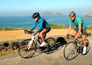 nathalia ex-bbb triatlon alexandre (Foto: André Durão / Globoesporte.com)