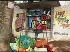 Projeto oferece livros em ponto de ônibus na zona rural de Uberaba