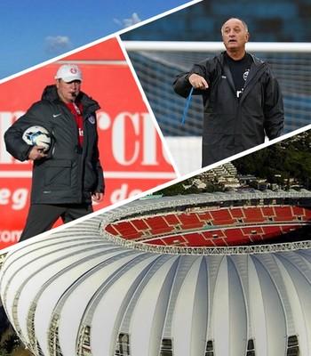 Carrossel Gre-Nal Abel e Felipão Beira-Rio (Foto: Arte / Globoesporte.com)