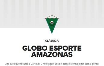 CARTOLA FC: Liga Globo Esporte Amazonas é inaugurada; participe