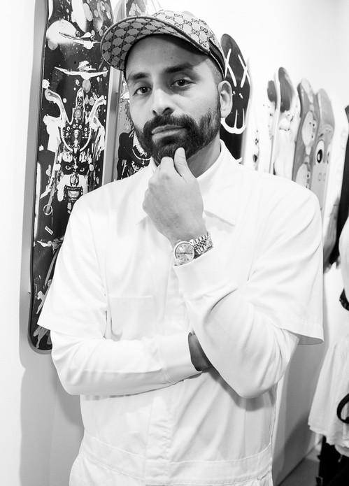 O diretor-criativo Angelo Baque (Foto: Reprodução)