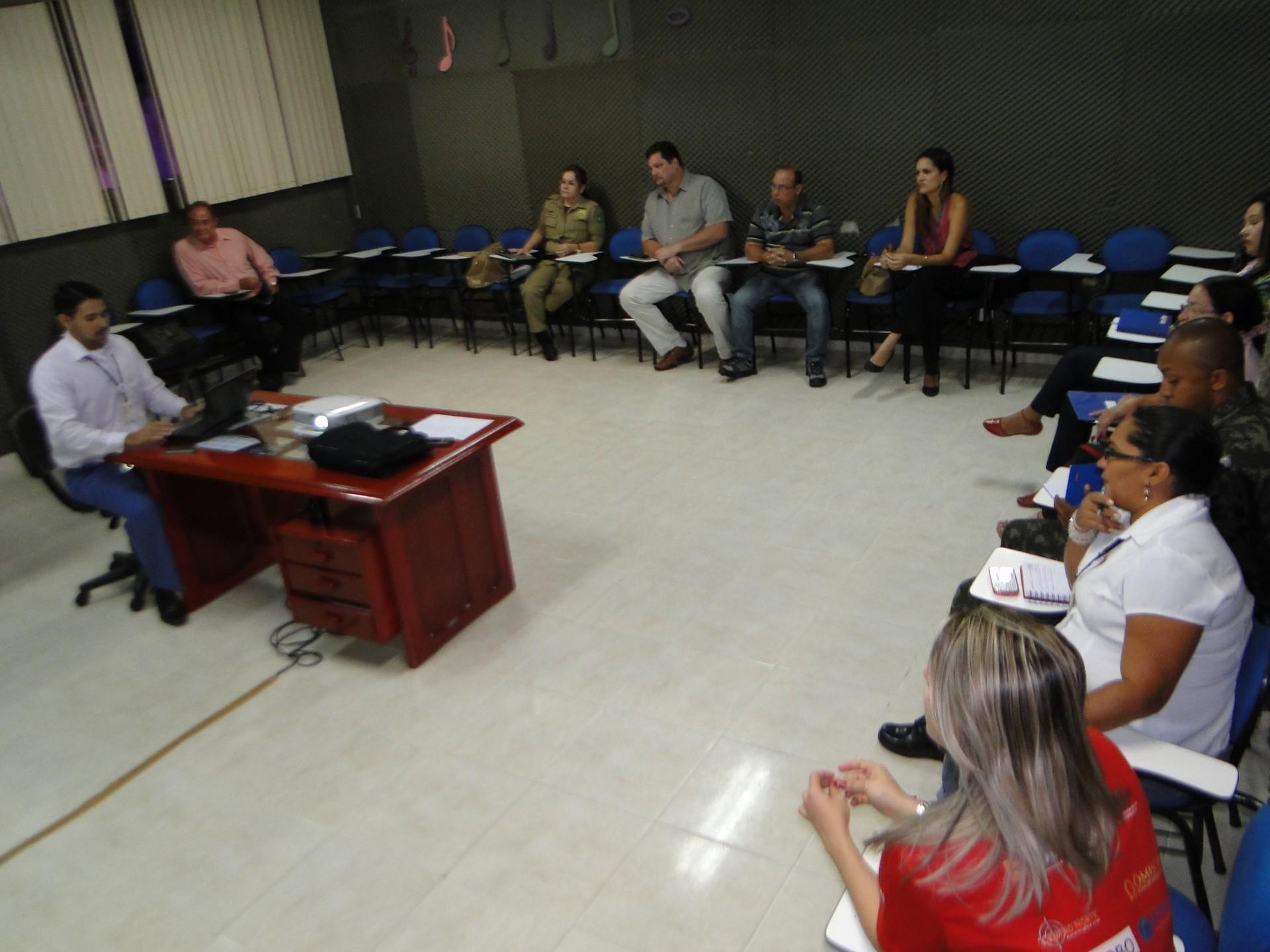 Reunião entre parceiros definiu as metas da Ação Global 2013 em Roraima (Foto: Ascom Sesi Roraima)