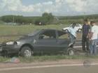 Mulher morre a caminho do Carnaval de Saltinho após acidente em rodovia