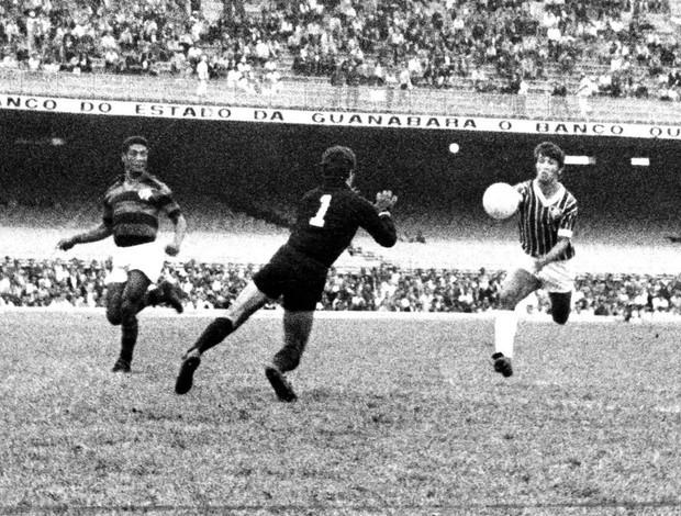 Taça de Prata - Flamengo X Fluminense - Wilton, Fluminense (Foto: Arquivo / Agêcia O Globo)