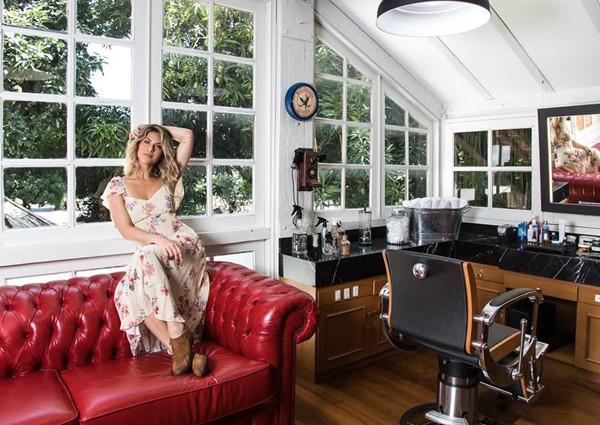 Giovanna Ewbank inaugura salão de beleza no Rio (Foto: Elvis Moreira)