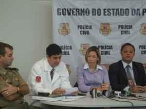 Médico apresentou resultados dos exames e laudo final na manhã desta sexta-feira (Foto: Rafael Melo/G1)