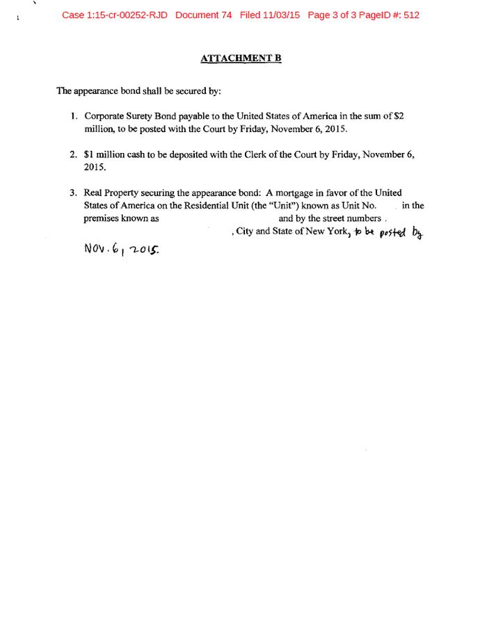 Documento Marin justiça americana pagina 3 (Foto: Reprodução)