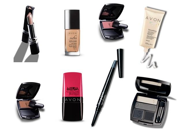 Veja os produtos usados na transformação de Carla (Foto: Divulgação)