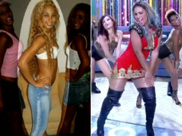 Valesca Popozuda falou sobre as transformações no seu corpo (Foto: Encontro com Fátima Bernardes / TV Globo)