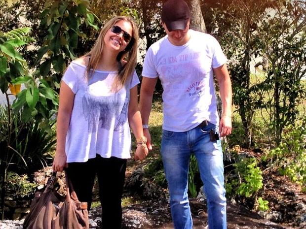 Após 1 milhão de acessos em vídeo, casal conta a própria história em site (Foto: Arquivo Pessoal)
