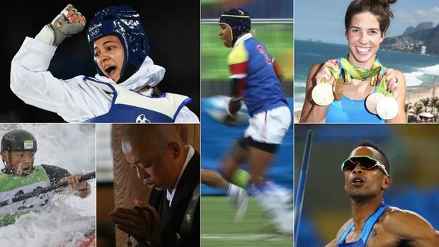 Entre competidores de vários países, muitos dividem a dedicação ao esporte com trabalho em profissões como carteiro, maquiadora e sacerdote budista (Foto: Reprodução)