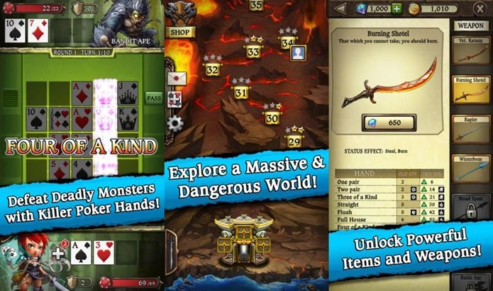 Poker e RPG se misturam neste jogo inovador (Foto: Divulgação)