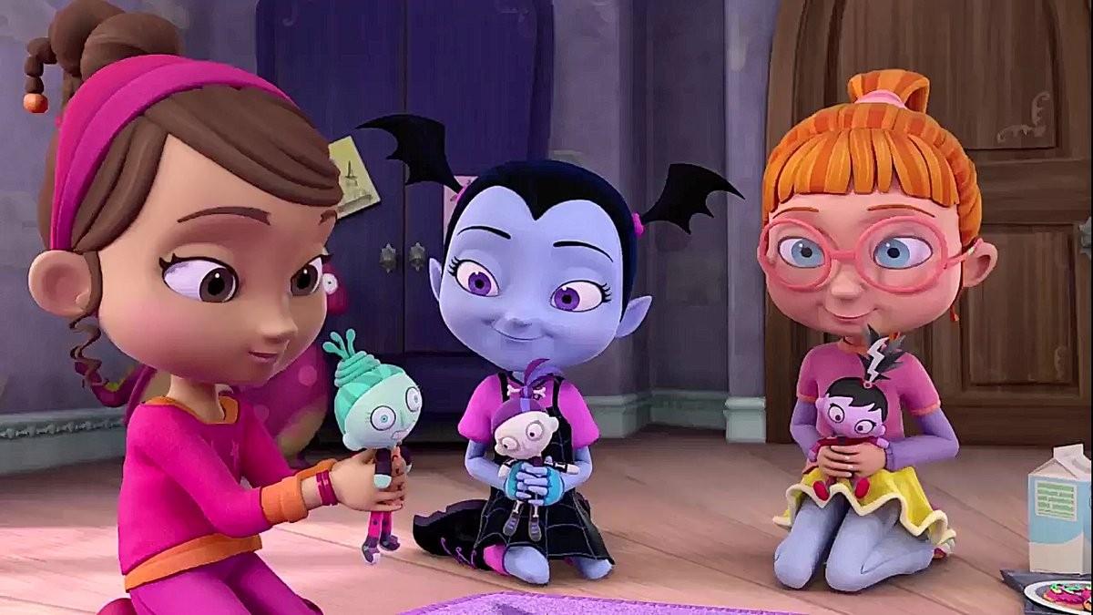 Vamprina e suas novas amigas (Foto: Divulgação)