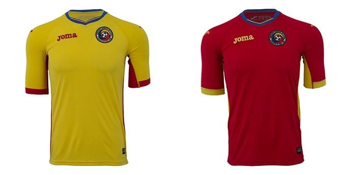 Camisas Eurocopa romenia
