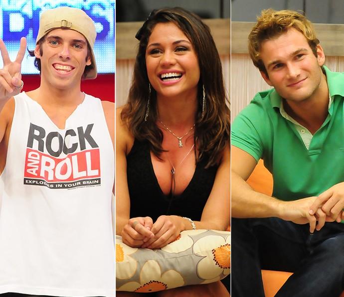 Triângulo amoroso Maurício x Maria x Wesley (Foto: TV Globo)