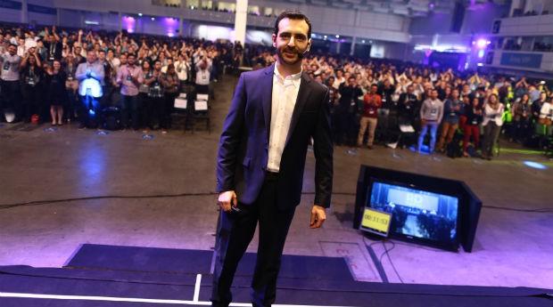 Eric Santos, CEO da Resultados Digitais: 5 mil pessoas em evento (Foto: Divulgação/RD)