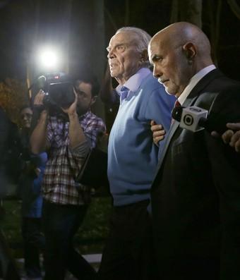 José Maria Marin deixa corte no Brooklyn (Foto: AP)