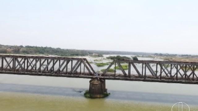Trilhos trouxeram desenvolvimento às cidades do Norte de Minas (Foto: Reprodução/Inter TV)