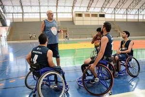 Jorge Maravilha em treino do Projeto Reviver, em Palmas (Foto: Marcus Mesquita/Projeto Reviver)
