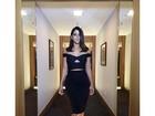 Carol Castro usa look justíssimo de mais de R$ 55 mil no 'Domingão'