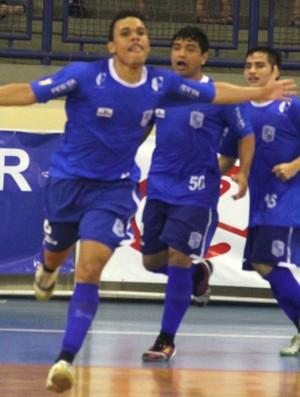 Minas vence o Joinville na final da Taça Brasil de Futsal (Foto: Manolo Quiróz/Divulgação)