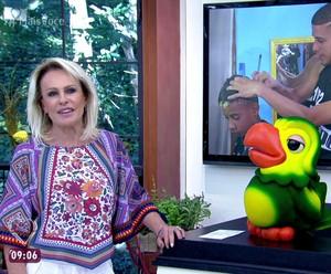 Ana Maria explica sobre evento Boas Ações  (Foto: TV Globo)