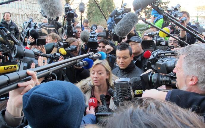 Sabine Khem, assessora de Michael Schumacher (Foto: Felipe Siqueira)