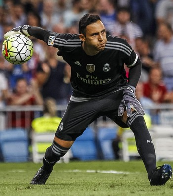 Keylor Navas Real Madrid x Betis (Foto: Reuters)