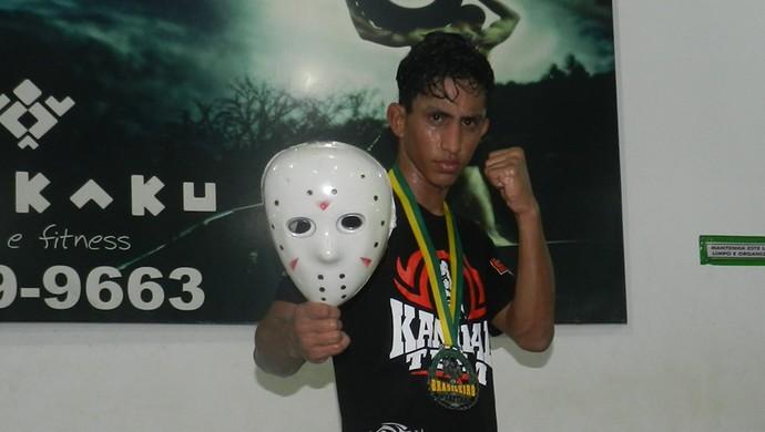 lutador Yago Alves Pereira (Foto: Arquivo Pessoal/Yago Alves)