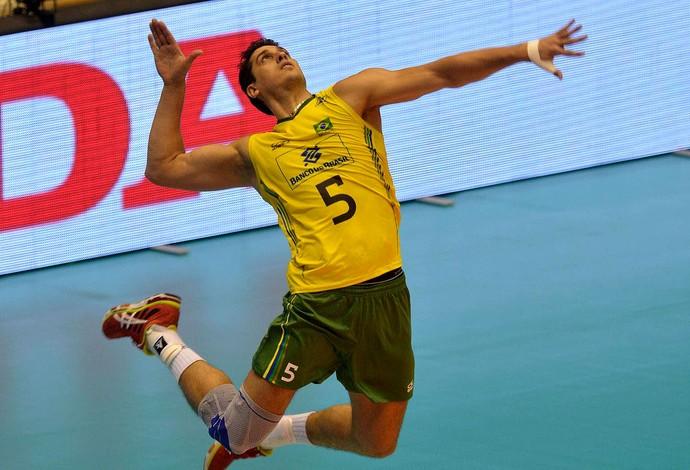 vôlei Sidão e Itália liga mundial (Foto: FIVB)