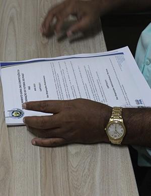 Regulamento Piauiense 2014 (Foto: Emanuele Madeira/GLOBOESPORTE.COM)