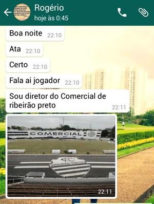 Rogério Vieira, vice-presidente do Comercial (Foto: Reprodução)